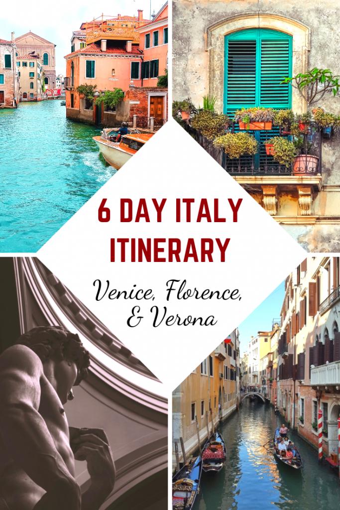 6 Day Italy Itinerary