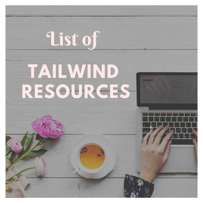 List of Tailwind Resources