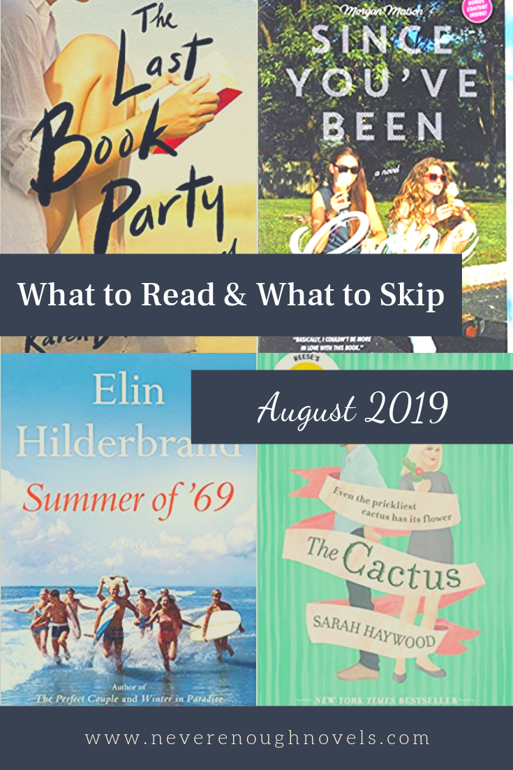 what to read august 2019
