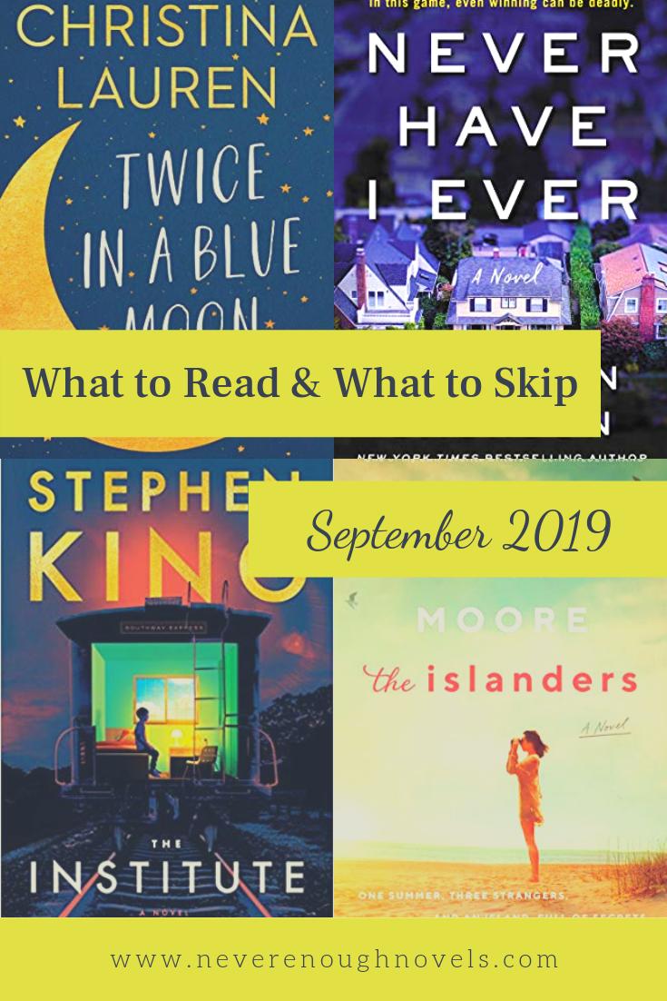 What I'm Reading – September 2019