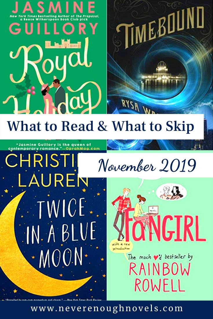 What To Read & Skip – November 2019