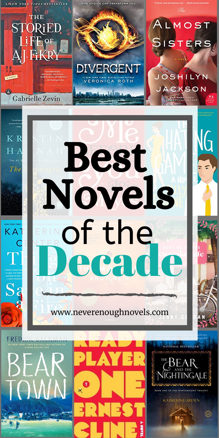 Best Books of the Decade: Fiction of the 2010s