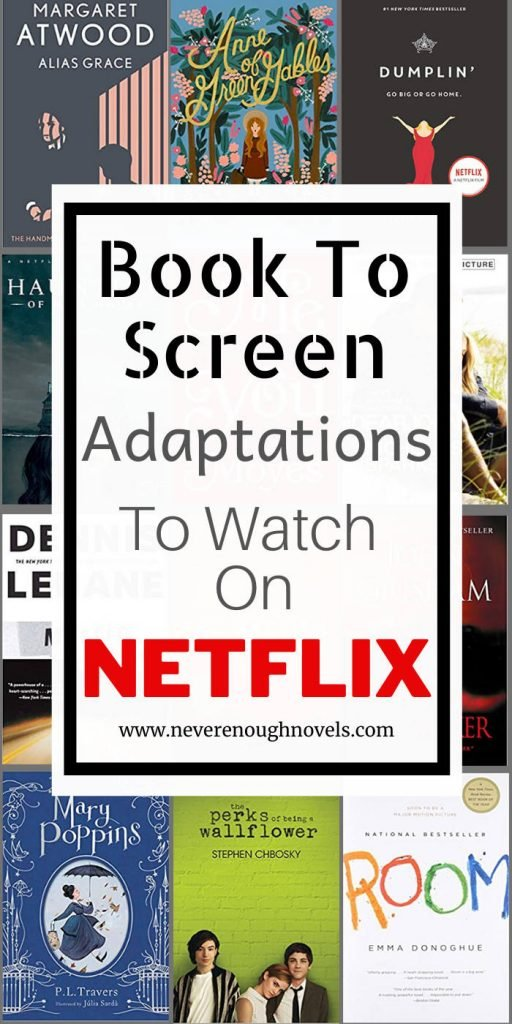 netflix movies based on books