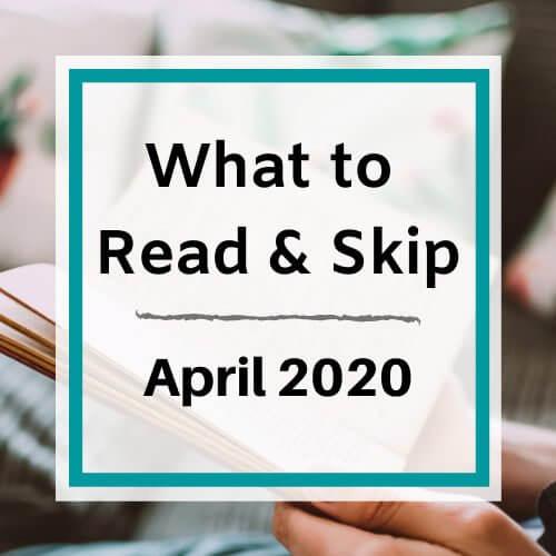April 2020 Book Recommendations