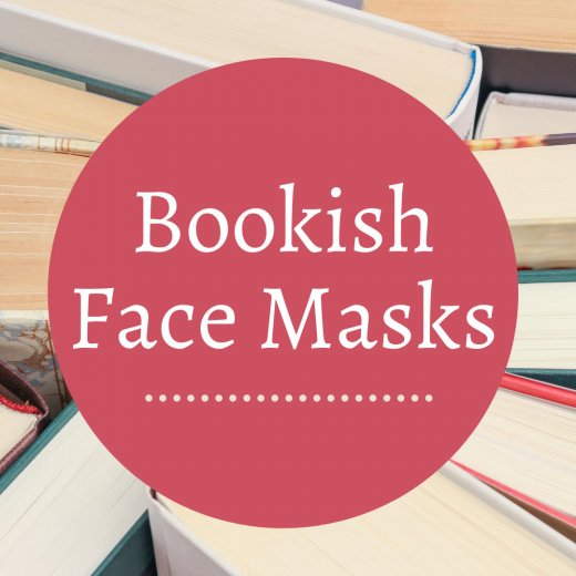 bookish face masks