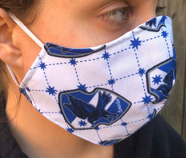 ravenclaw face mask