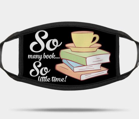 so many books face mask