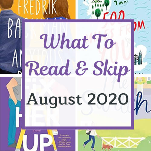 august 2020 recommendations