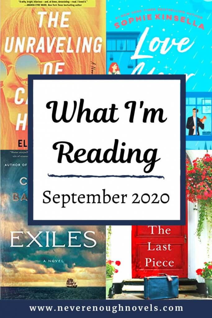 what I'm reading September