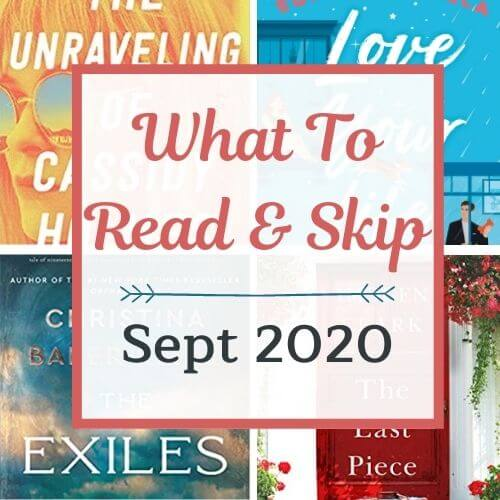 September 2020 Book Recommendations