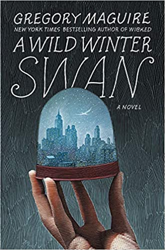 wild winter swan