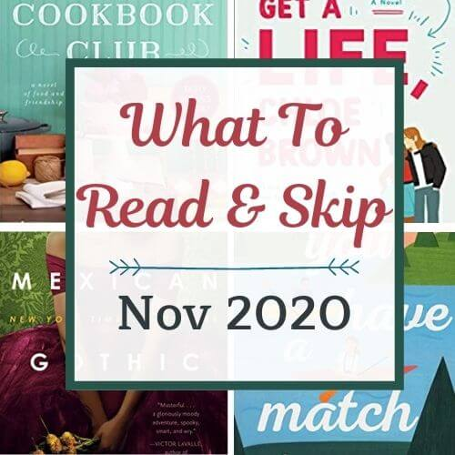 November 2020 Book Recommendations