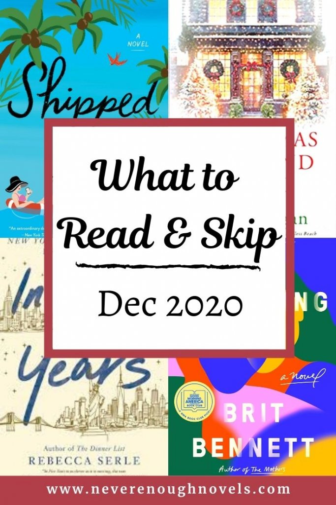 december 2020 book recommendations