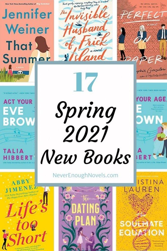 new books spring 2021