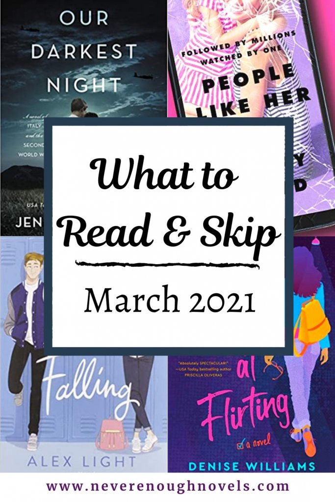 march 2021 book recommendations