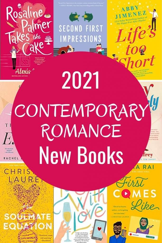 contemporary romance new releases of 2021