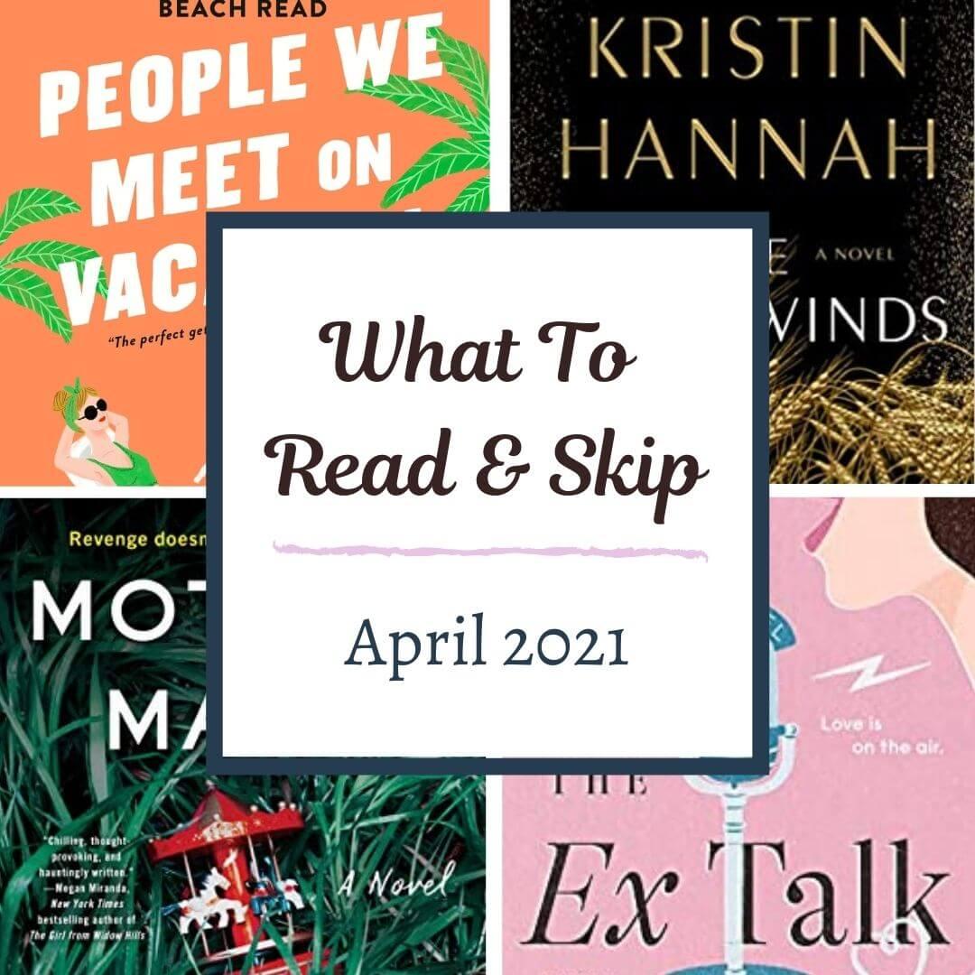april 2021 book recommendations